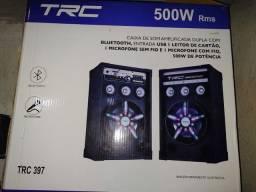 Título do anúncio: Caixa de som amplificada 500w