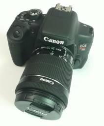 Câmera Canon Eos Rebel T6i; Wi-fi, Lente Stm 18-55, Sd 32gb