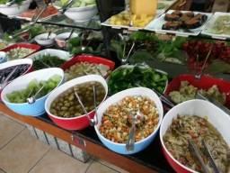Restaurante tradicional com buffet em shopping