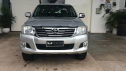 Toyota Hilux 2.7 SRV 4X4 CD Flex 4P 2013/2013 Prata - 2013