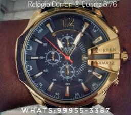 Relógio De Luxo Masculino Curren ® (Original)