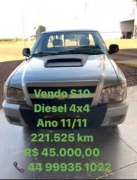 S10 Colina 2011 4x4 Diesel - 2011