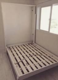Cama Retratil Vertical, de Solteiro compacta, mais espaço no dormitório