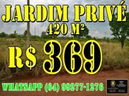 Lote Jardim Privé Parcelado 420 metros - Terreno a Venda no bairro Jardim Privé ...