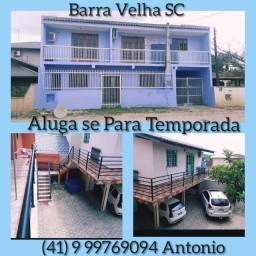 Casa Aluguel Barra Velha S.C ( diária)