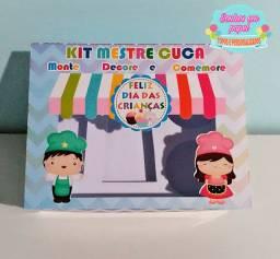 Caixa mini confeiteiro - dia das crianças