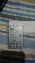 Bateria de celular LG original, nova, na embalagem