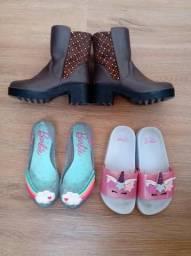 Sapatos menina tamanho 28