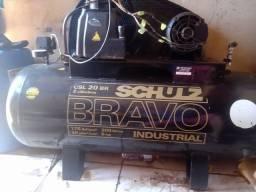 Compressor Schultz semi novo . Pra vender logo