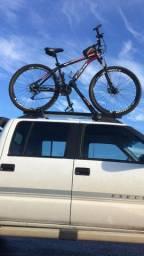 Rack de teto para 2 bikes