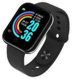 Relógio Smartwatch Inteligente D20 - Perfeito para presente de Natal