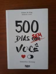 Livro - 500 dias sem você