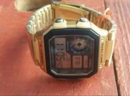 Relógio unissex Dourado A Prova Dgua - Promoção só hoje! Ultima unidade.