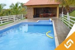 Linda chácara c/3 quartos; piscina aquecida e quiosque; em Caldas Novas. Cód 1022
