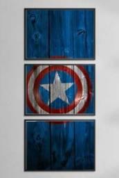 Quadro Decorativo Mosaico 3 Peças- 180×60