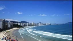 Alugo cobertura frente ao mar praia Asturias 4 quartos suite 3 vagas Asturias Guaruja