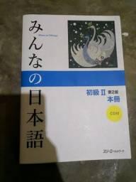 Livro Japones Minna no Nihongo Shokyu 2 Honsatsu Novo com CD