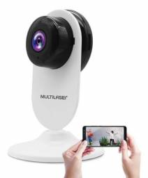 Câmera IP Interna Inteligente HD Wi-Fi Multilaser Liv SE223