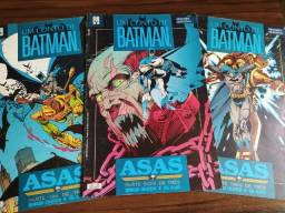Um Conto De Batman Asas Ed Abril Completo com as 3 Revistas