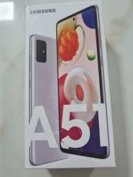 Samsung Galaxy A51 Cinza 128Gb 4Gb Ram - Oferta