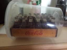 mini engradado coca cola anos 50