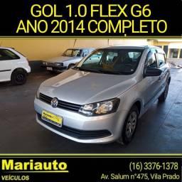 Título do anúncio: GOL G6 1.0 FLEX 4P COMPLETO