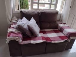 Vende-se Sofá dois lugares reclinável