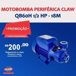 Título do anúncio: Motobomba periférica QB60H 1/2 HP