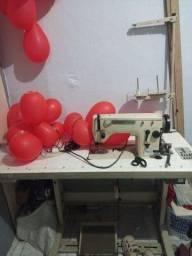 Máquina de costura zig-zag industrial