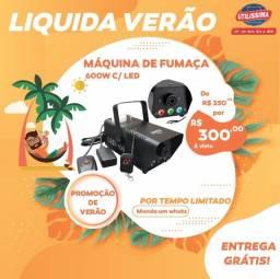 Título do anúncio: Maquina de Fumaça 600w com Led