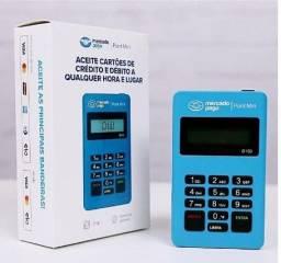 Máquinas Póint Mini D150 (AZUL) - Máquininhas Mercado Págo (NOVA)