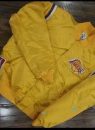 Título do anúncio: Jaqueta Original Vintage Anos 80 Og Los Angeles Lakers Satin Starter