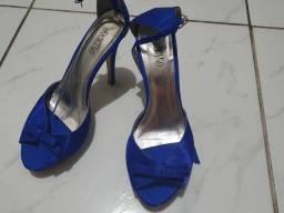 Sandália azul Bic tam 38
