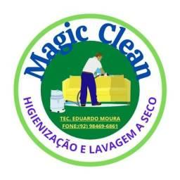 Título do anúncio: MAGIC CLEAN HIGIENIZAÇÃO E LAVAGEM A SECO