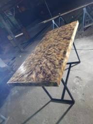 Título do anúncio: Mesa rustica palhete
