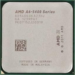 Título do anúncio: Processador Apu A6 5400K 3.6Ghz Black Edition Lga  Fm2..Troco Por Memeria Ddr3