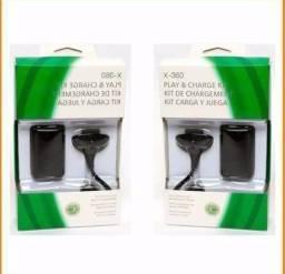 Título do anúncio: Kit com duas baterias recarregáveis Xbox 360