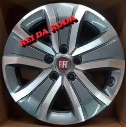 Jogo de Rodas ARO16 - Fiat Toro- Originais