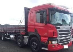 Scania P310 8x2 BiTruck Carroceria - 2015 (4° Eixo Direcional)