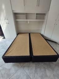 Título do anúncio: Box cama casal Queen