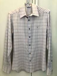Camisa Social Mitchell Listrada Tamanho M