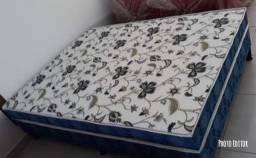 cama box casal com 10 cm de espuma muito conforto e qualidade