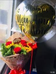 Título do anúncio: Promoção! Buquê com meia dúzia de rosas 50 reais.