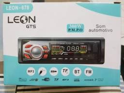 Som Automotivo Bluetooth Leon 300W