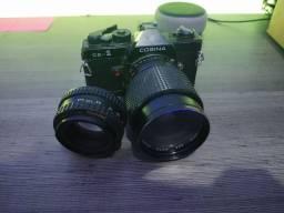 Título do anúncio: Camera cosina com lente 50mm e 70mm analógica