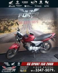 Título do anúncio: Titan 150 Sport completa=2008=> Pronta Entrega Garanta a Sua