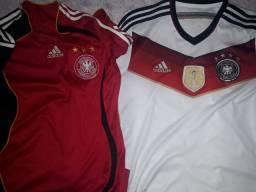 Vendo duas camisas da Alemanha originais 2006 e 2014