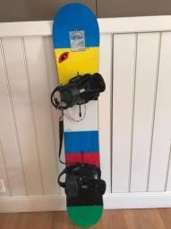 Snowboard Burton + Leash + Bindings