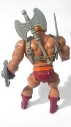 Título do anúncio: He-man Clássico Boneco Anos 80 Motu Mattel Estrela Completo