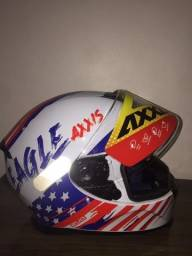 Título do anúncio: capacete axxis eagle tamanho 58 e 60